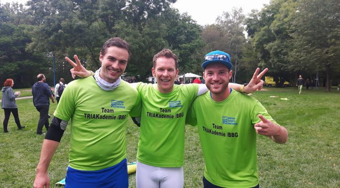 Team TRIAkademie/BBG erreicht sensationell Platz 3 bei der Team Challenge